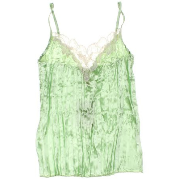 HeartSoul Other - Cami Tank top with lace Accordian pleats Medium JR